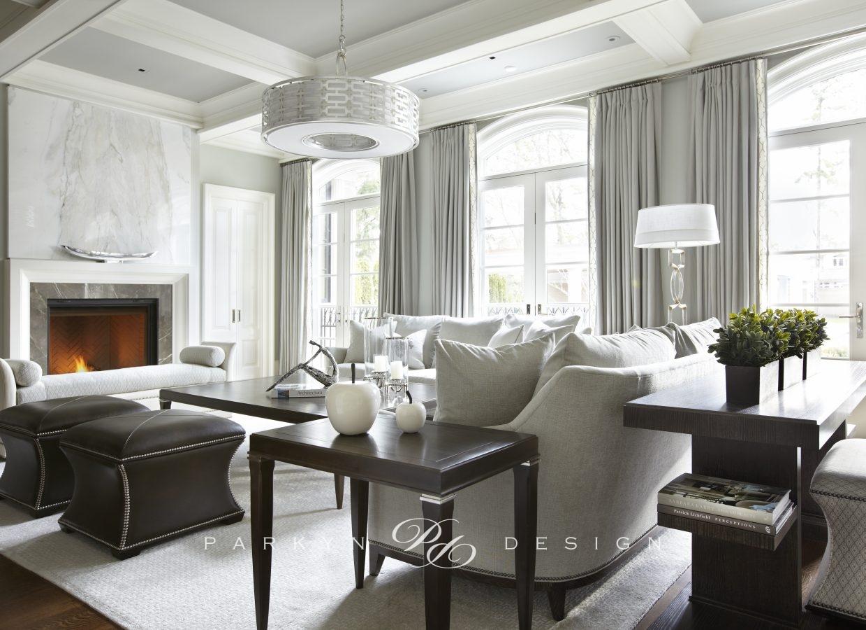 Transitional Elegance Parkyn Design Interior Design