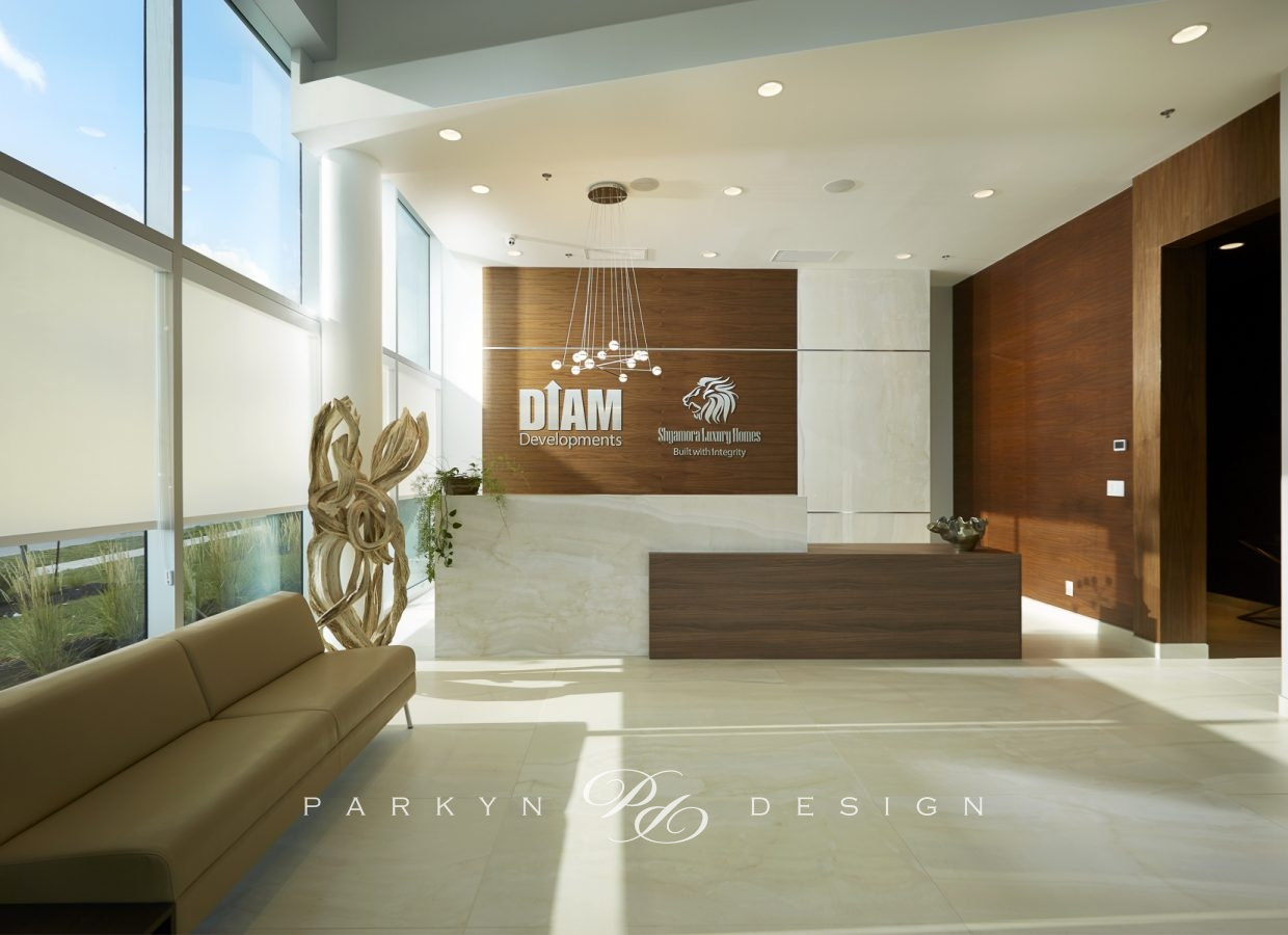 Contemporary Office Parkyn Design Interior Design