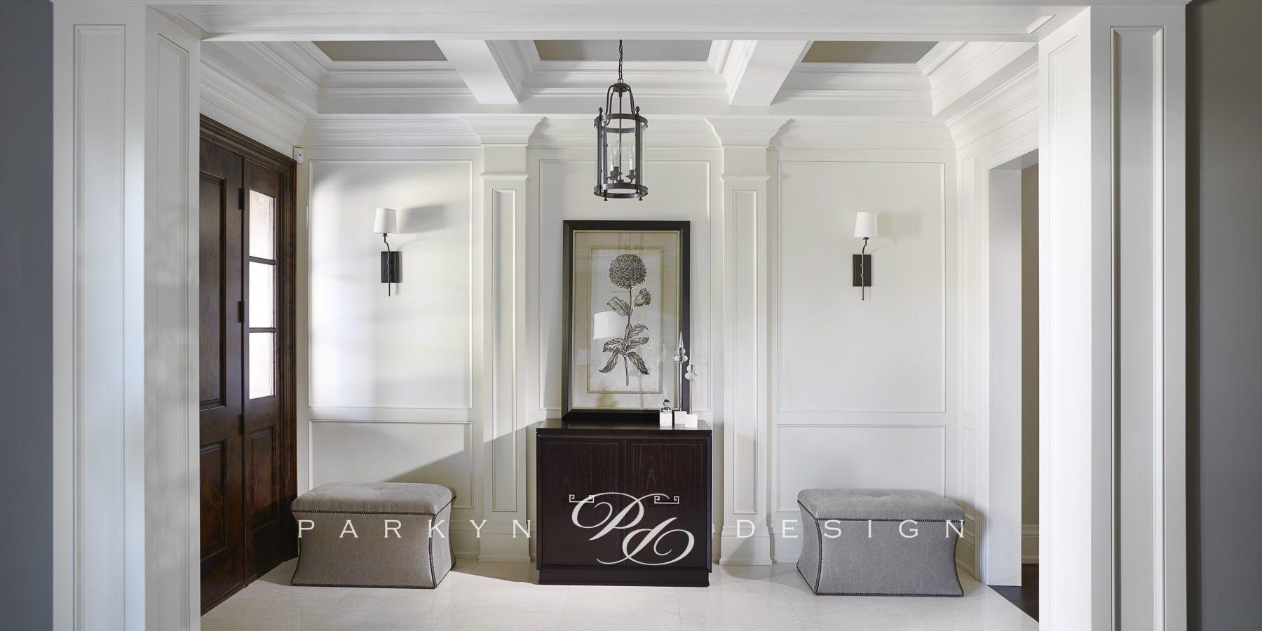 Transitional Bungalow | Parkyn Design | Interior Design | Oakville ...