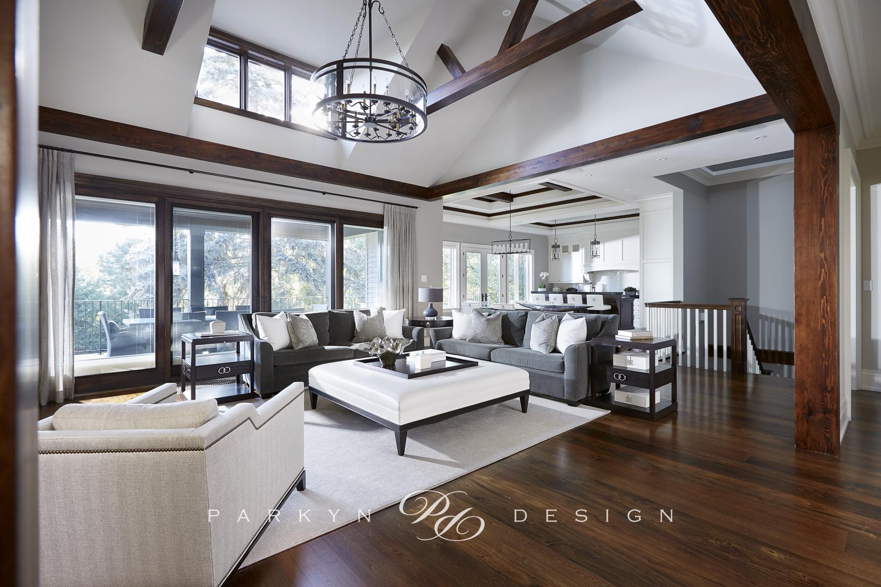 Transitional Bungalow Parkyn Design Interior Design